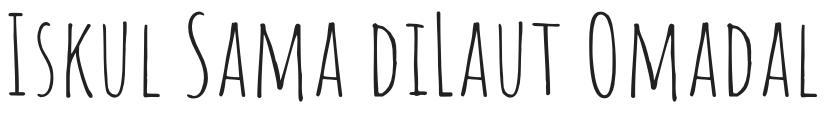 Iskul Sama DiLaut Omadal